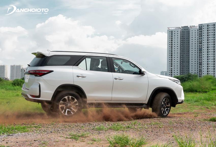 Toyota Fortuner 2020 2.8L có sự nâng cấp cho công suất động cơ mạnh mẽ hơn
