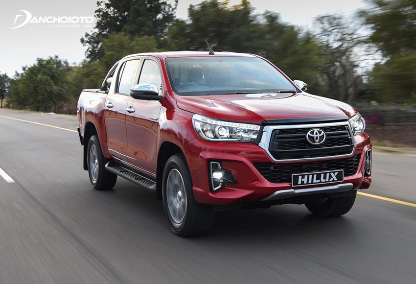 Toyota Hilux sở hữu nhiều giá trị lớn từ thương hiệu Toyota mang lại
