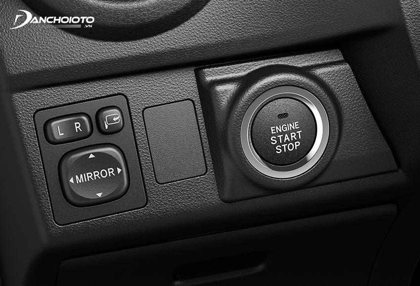 Toyota Wigo 2020 có chìa khoá thông minh & khởi động bằng nút bấm làm trang bị tiêu chuẩn