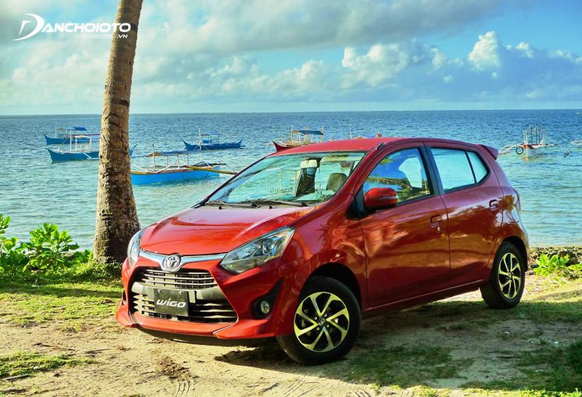 Toyota Wigo sở hữu thế mạnh lớn về thương hiệu, không gian rộng rãi, tính bền bỉ đã được khẳng định
