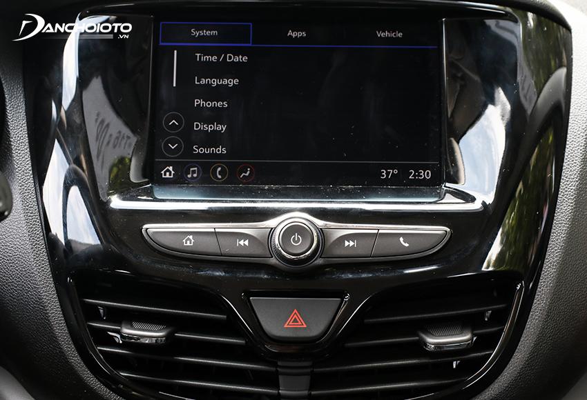 VinFast Fadil 2020 trang bị màn hình cảm ứng 7 inch giao diện sắc nét, nhạy
