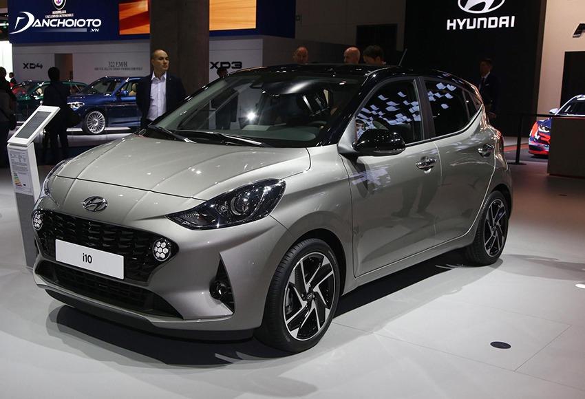 Hyundai Grand i10 sở hữu không gian xe rộng rãi hơn