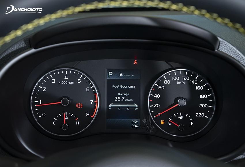 Kia Morning 2021 có màn hình màu đến 4.2 inch