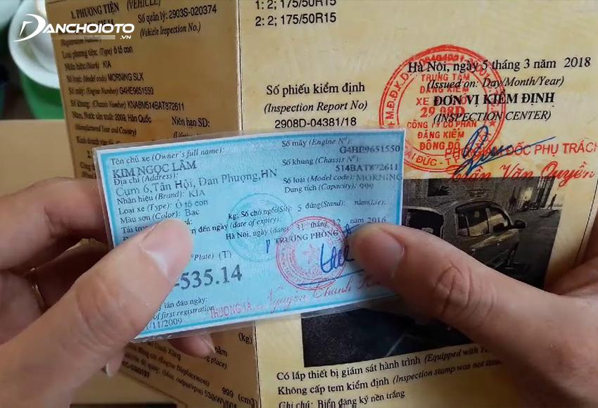 Kiểm tra kỹ các giấy tờ xe liên quan khi mua xe cũ Fortuner