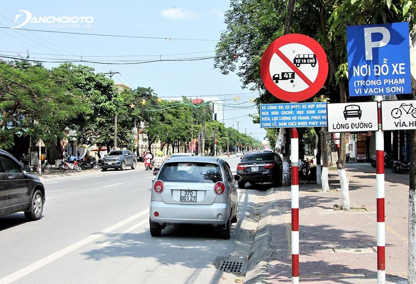 Lỗi ô tô lỗi đi vào đường có biển báo cấm phương tiện đang điều khiển bị phạt từ 1.000.000 – 2.000.000 đồng