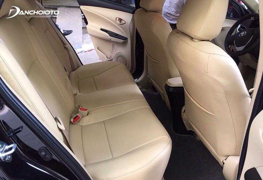 Cần kiểm tra kỹ chất lượng ghế xe khi mua Vios cũ