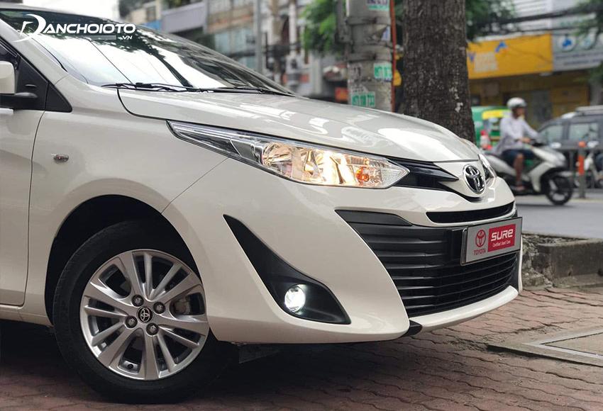 Chú ý kiểm tra kỹ hệ thống đèn xe Toyota Vios cũ