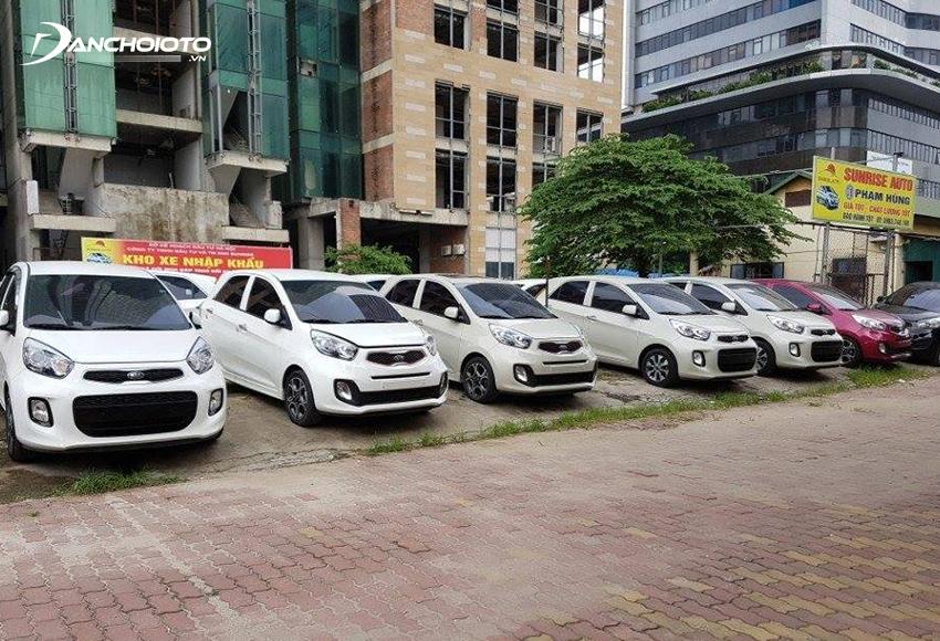 Giá xe Kia Morning cũ khá rẻ chỉ tầm 200 triệu - 350 triệu đồng