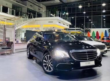 Giá xe Mercedes E200