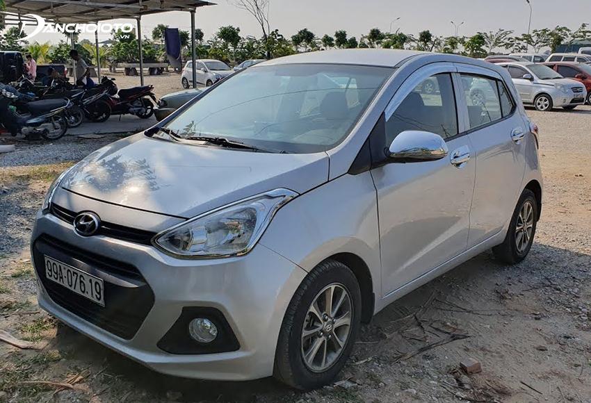 Hyundai i10 2014 – 2015 cũ đến nay vẫn còn cho cảm giác mới, hiện đại