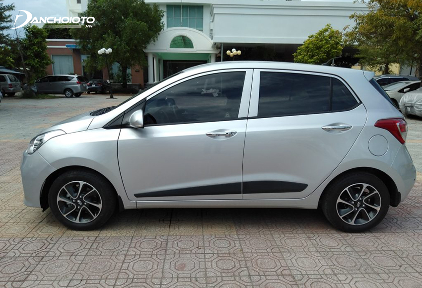 Hyundai i10 được đánh giá tiết kiệm nhiên liệu