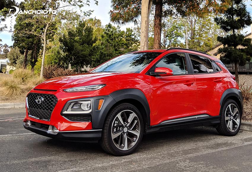 Hyundai Kona trang bị động cơ dung tích lớn hiệu suất cao hơn
