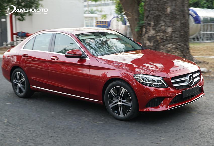 Khả năng cách âm Mercedes C180 được đánh giá cao