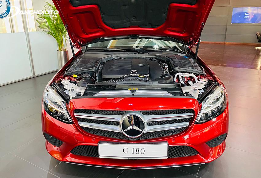 Mercedes-Benz C180 2020 được trang bị khối động cơ I4, 1.5L mới