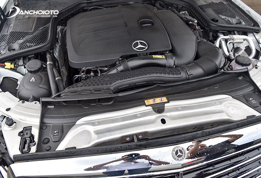 Mercedes C200 Exclusive sử dụng động cơ tăng áp 1.5L thêm công nghệ EQ Boost