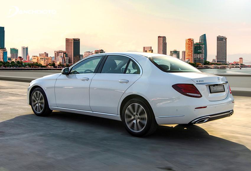 Mercedes E200 Exclusive 2020 được trang bị hệ thống treo AGILITY CONTROL