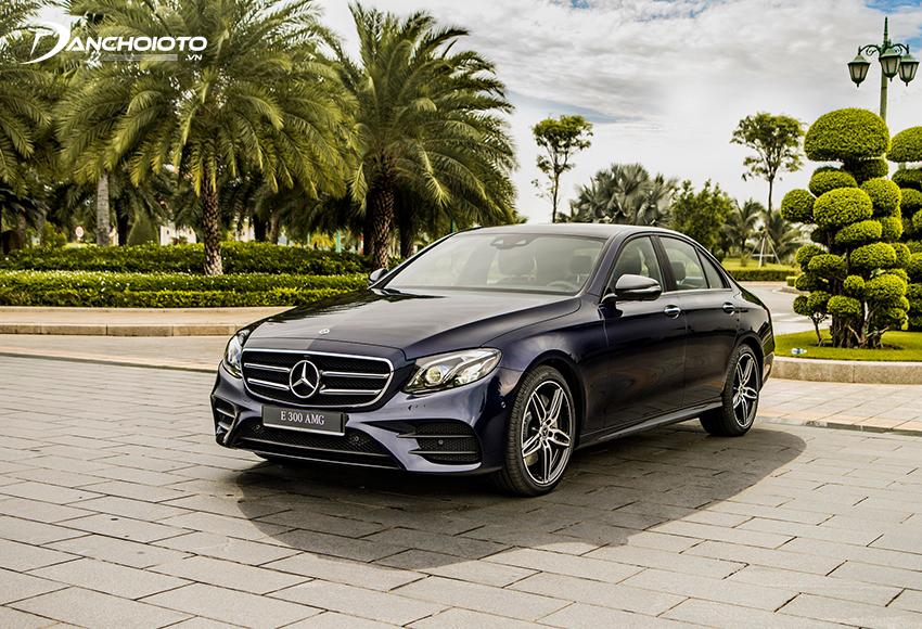 Mercedes E300 AMG mạnh bạo, thể thao với gói ngoại thất thể thao AMG