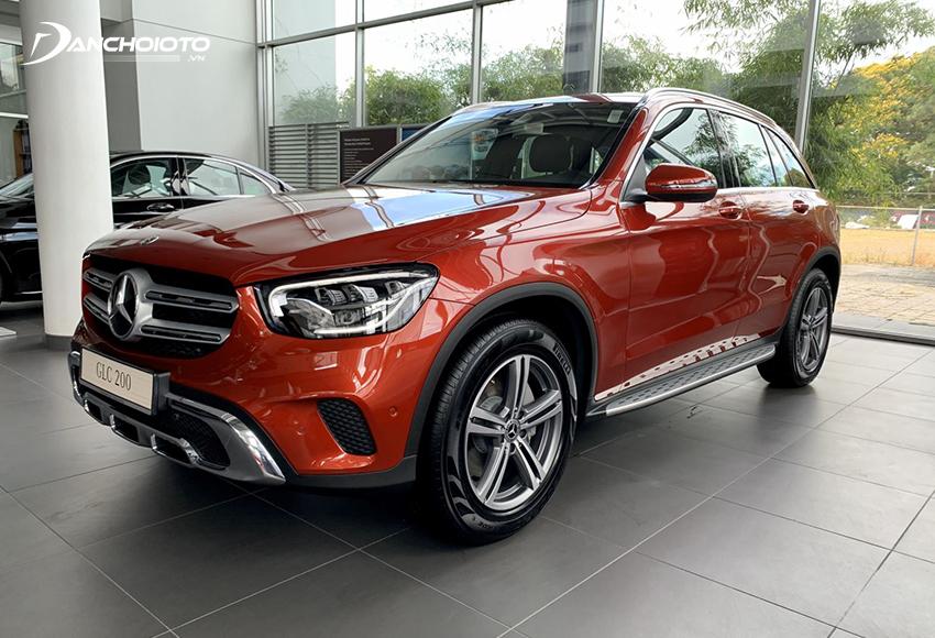 Mercedes GLC 200 2020 thay đổi thiết kế cá tính hơn