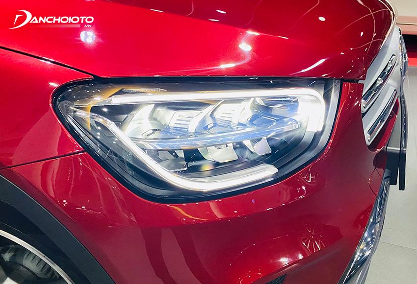 Mercedes GLC 200 2020 trang bị hệ thống đèn Full-LED thiết kế mới