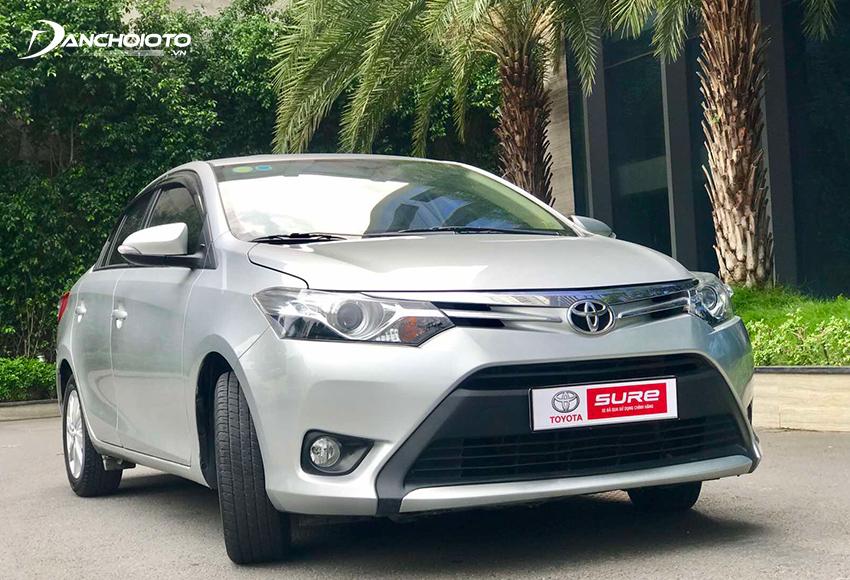 Mua Toyota Vios cũ, nên ưu tiên chọn Vios bản 1.5G