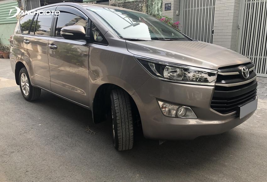 Ngoại thất Toyota Innova 2016 cũ