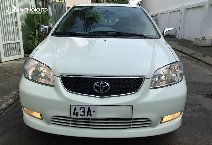 Ngoại thất Toyota Vios 2003 cũ