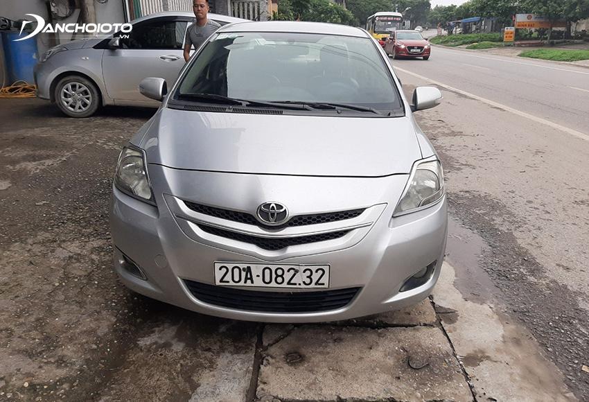 Ngoại thất Toyota Vios 2008 cũ