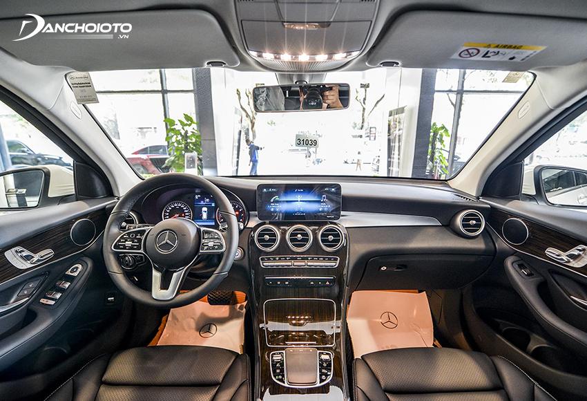 """Nội thất Mercedes GLC 200 2020 phần lớn vẫn kế thừa từ """"người tiền nhiệm"""""""