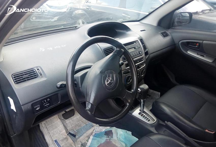 Nội thất Toyota Vios 2003 cũ