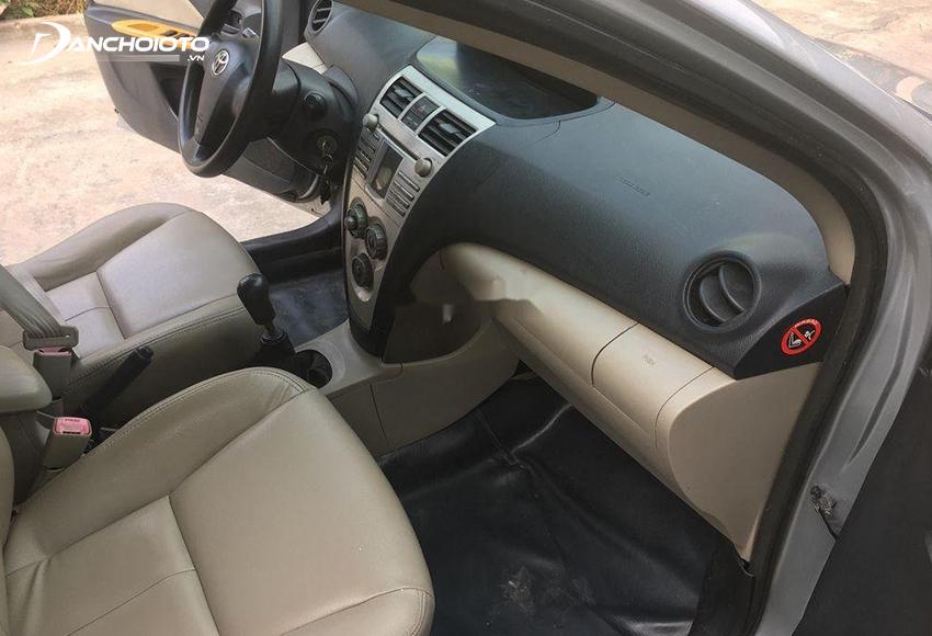 Nội thất Toyota Vios 2008 cũ