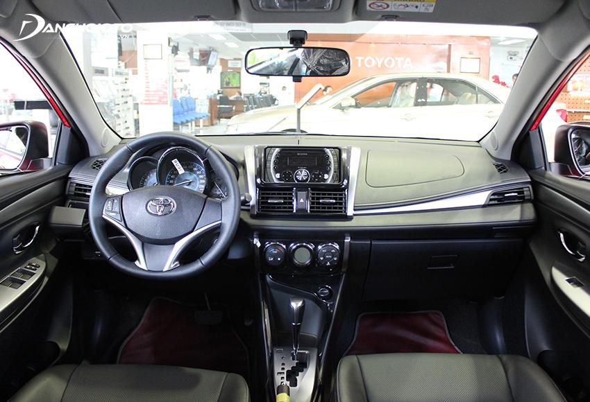 Nội thất Toyota Vios 2014 cũ