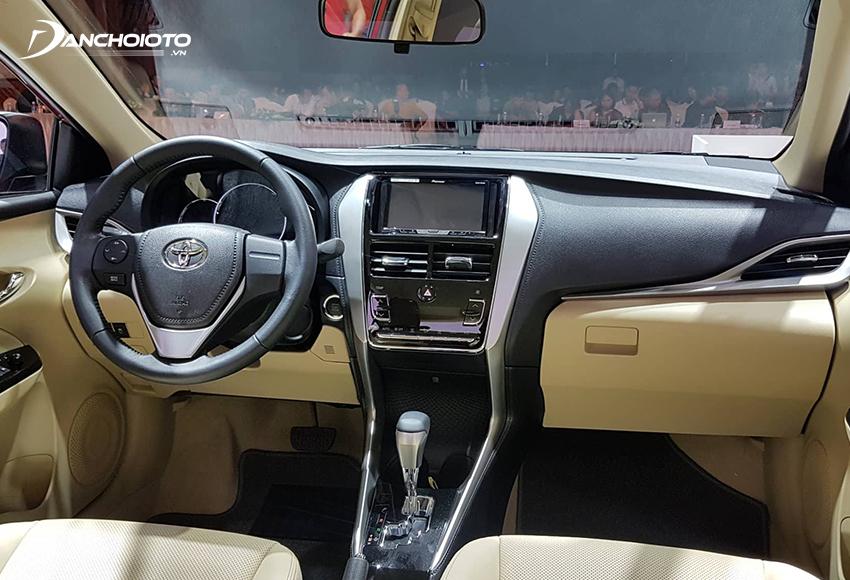 Nội thất Toyota Vios 2018 cũ