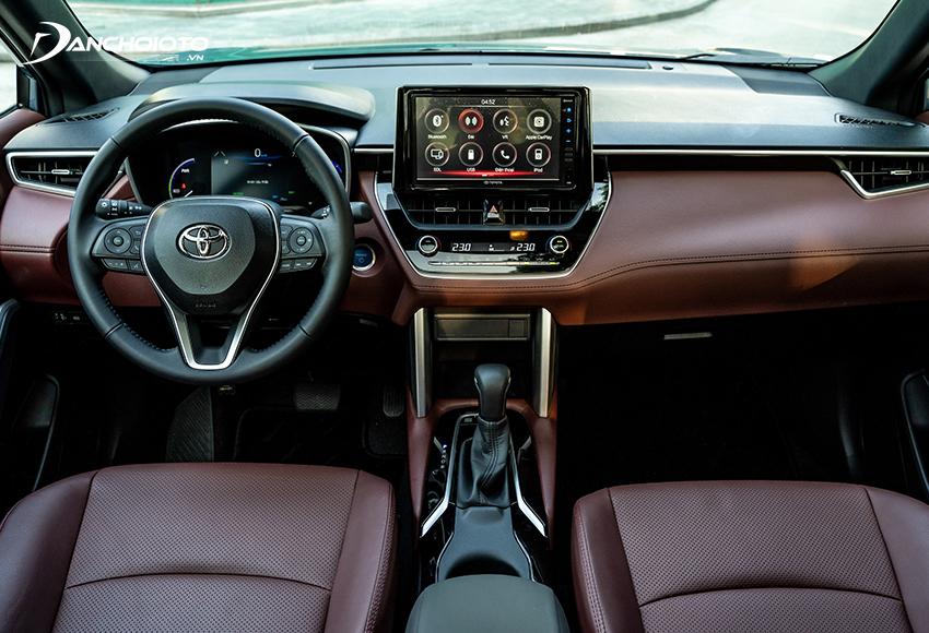 Taplo Toyota Corolla Cross 2020 theo phong cách đơn giản, tinh tế, khá thể thao