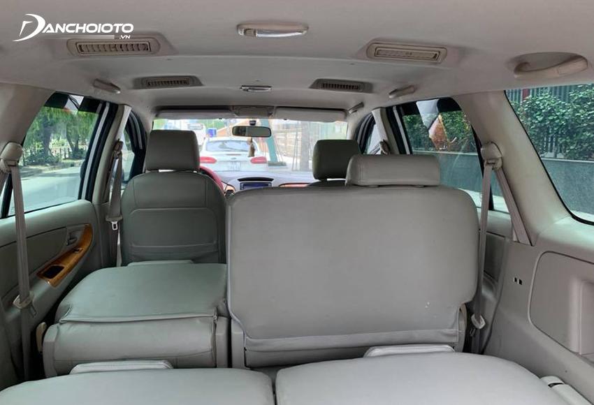 Toyota Innova cũ 7 chỗ là mẫu xe rộng rãi nhất phân khúc