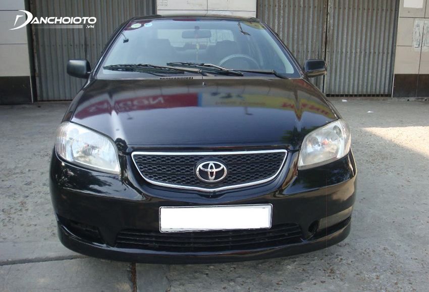 Toyota Vios 2003 chính thức ra mắt tại Việt Nam