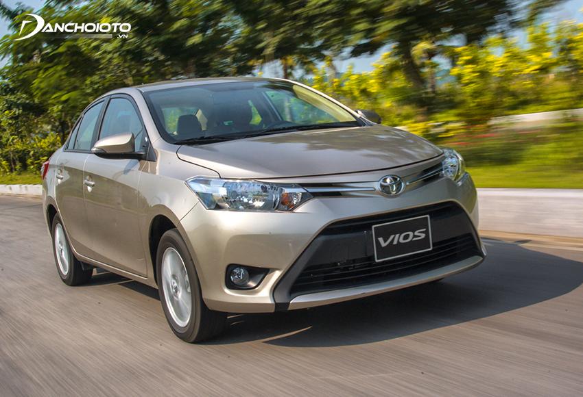 Toyota Vios 2014 sở hữu diện mạo hiện đại hơn
