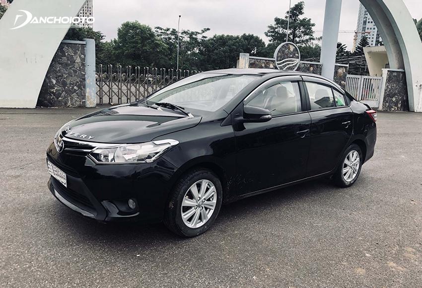 Toyota Vios cũ có mức tiêu hao nhiên liệu tiết kiệm