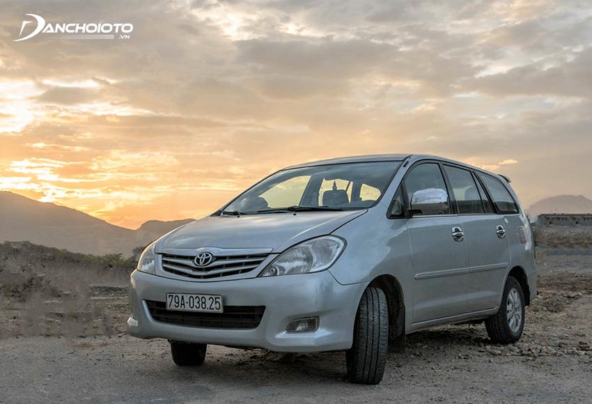 Xe Toyota Innova 2008 cũ
