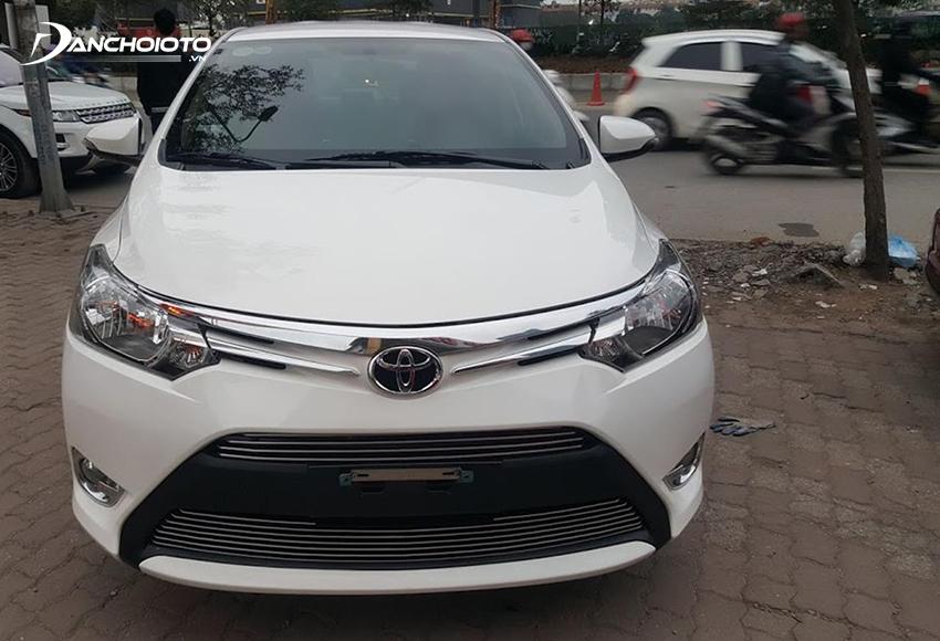 Xe Toyota Vios cũ nhập khẩu khá hiếm trên thị trường
