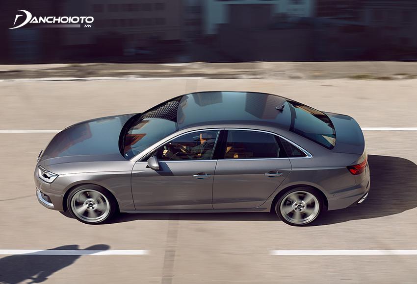 Audi A4 2020 sử dụng động cơ tăng áp 2.0L kết hợp hệ thống Mild Hybrid 12V cho khả năng vận hành tối ưu hơn