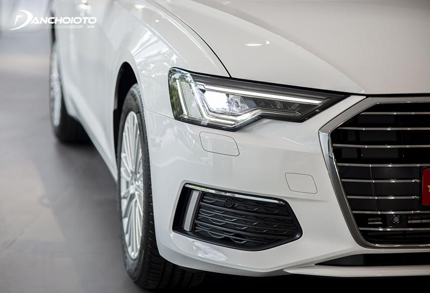 Audi A6 2020 được trang bị hệ thống đèn pha LED Ma trận HD hoàn toàn mới