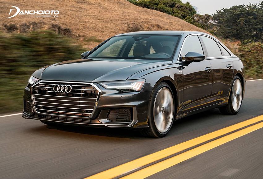 Audi A6 2020 kết hợp sử dụng động cơ tăng áp V6 cùng hệ thống Mild Hybrid giúp khả năng vận hành xe tối ưu