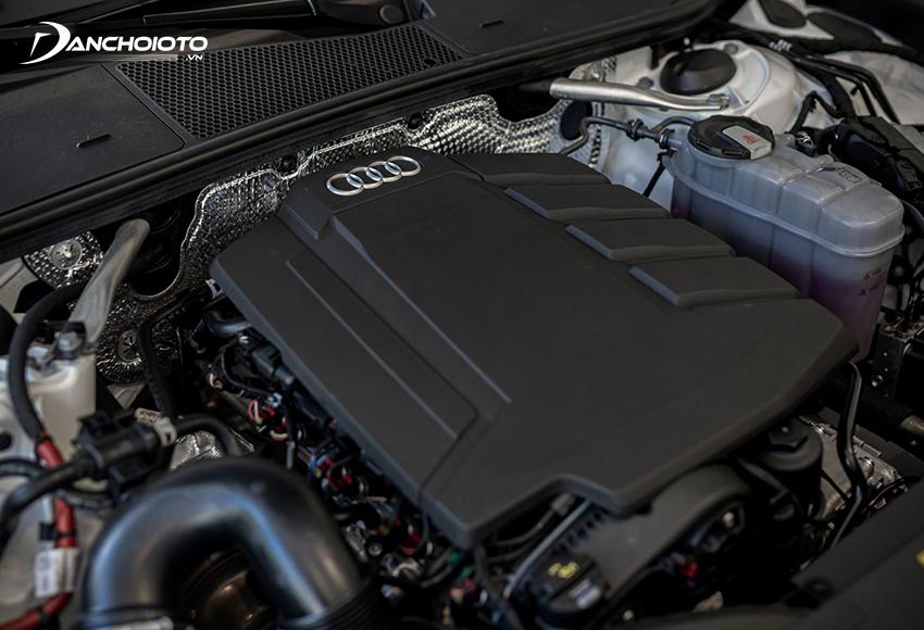 Audi A6 2020 sử dụng động cơ mới tăng áp V6 kết hợp hệ thống Mild hybrid MHEV