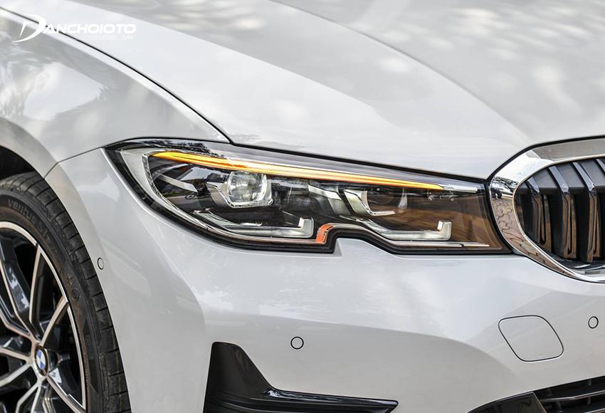 BMW 320i 2020 được sử dụng công nghệ Full-LED thanh