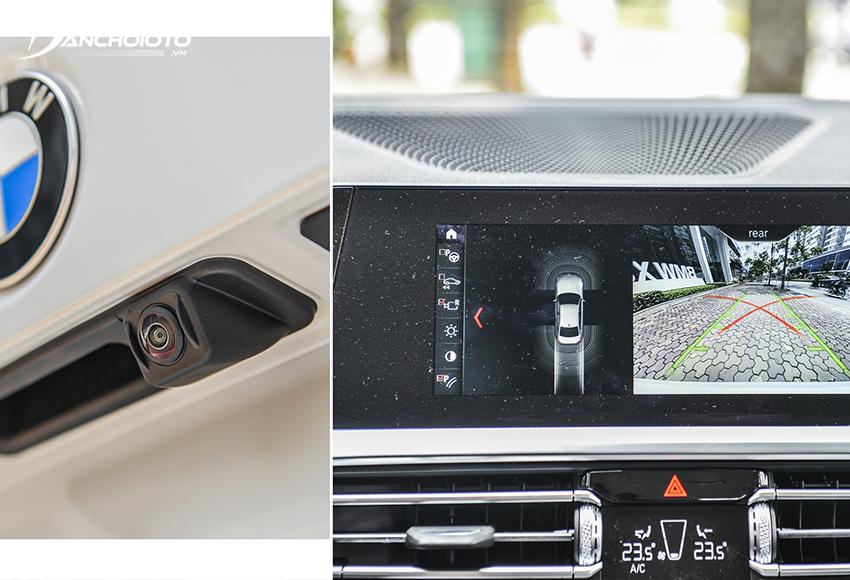 BMW 320i 2020 được trang bị thêm tính năng hỗ trợ lùi xe theo vệt