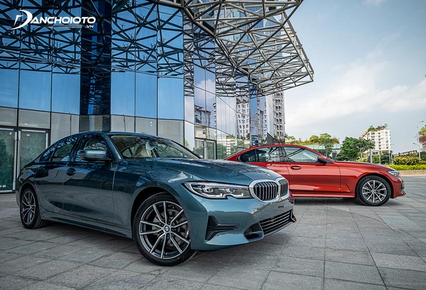 BMW 320i Sport Line và 320i Sport Line Plus 2020 mới có cùng thiết kế, hệ thống vận hành, điểm khác biệt chủ yếu ở một số trang bị