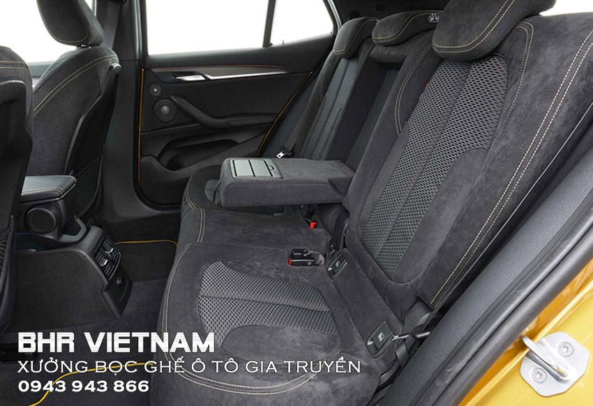 Bọc ghế ô tô da Alcantara mang đến trải nghiệm đẳng cấp cho người ngồi