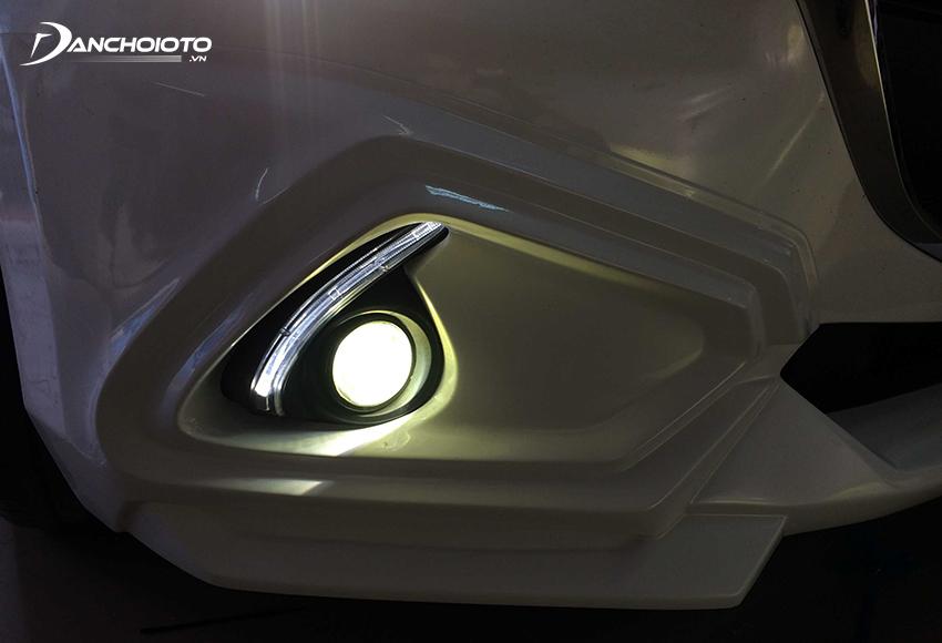 Đèn Bi LED được sử dụng độ gầm khá phổ biến bởi cho ánh sáng tốt, giá cả vừa phải