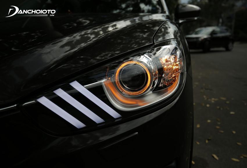 Đèn mí LED khối