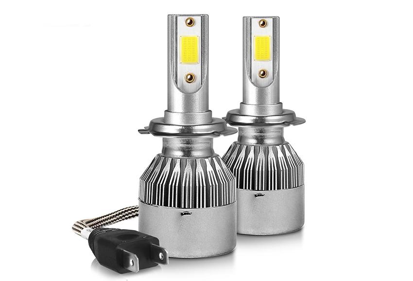 Đèn pha LED ô tô sử dụng chip LED COB